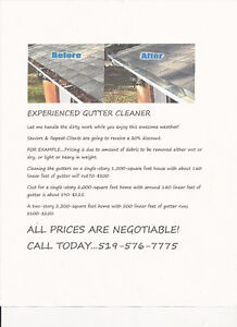 Do your GUTTERS pass the gutterball test??? Kitchener / Waterloo Kitchener Area image 1