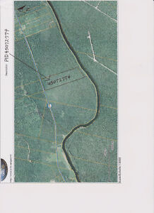 20 ACRES WITH WATER FRONTAGE ON SALMON RIVER NEAR CHIPMAN, NB