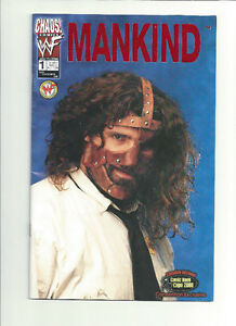 MANKIND CANADIAN NATIONAL EXPO #1 COMIC MINT