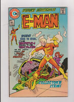 "October 1973 Charlton Comics ""E-Man"" Comic Book #1"