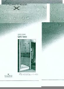 Porte de douche en verre de 10mm FLEURCO QXS SOLO MZXS3536-11-40 Saguenay Saguenay-Lac-Saint-Jean image 1