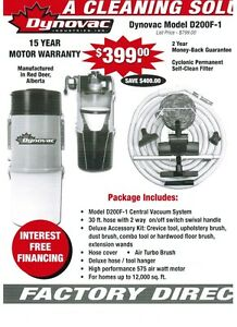 DYNOVAC CENTRAL VACUUM SYSTEMS MADE IN CANADA