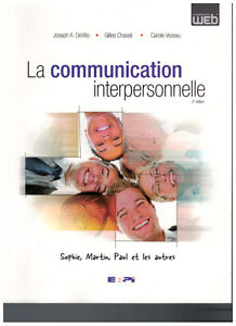 La communication interpersonnelle 2e édition West Island Greater Montréal image 1