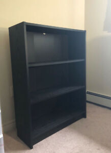 Ikea Bookcase/Desk(generous work/study surface)- Good condition