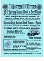 VENDORS WANTED !  For Ingersoll Lions Spring Swap Meet & Car Sho
