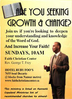 Come  Learn The Bible and Fellowship With Other Believers