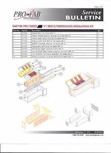 Empyre wood boiler brick kit