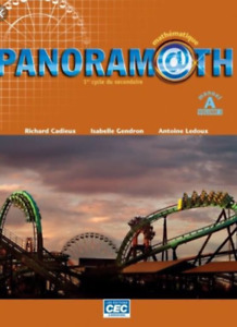 Panoramath secondaire 1 (manuel A volume 2)
