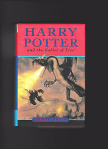 harry potter hard cover book the goblet of fire