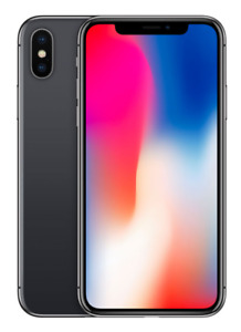 New* iPhone X 64 GB Space Grey