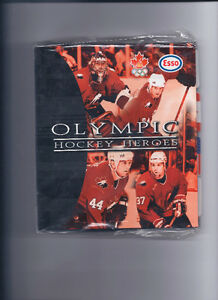 Esso 1997-98 Olympic Heroes New In Package with Binder