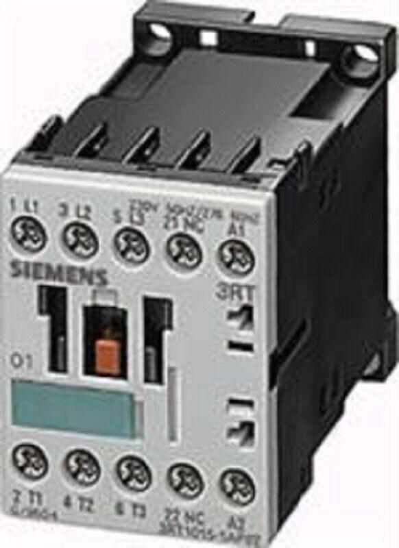 NIB Siemens 3RT1015-1AK62 Industrial Motor Starter Contactor 120V 50/60Hz
