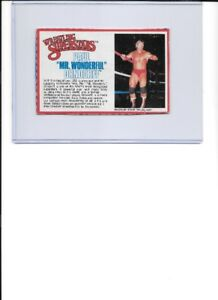 1985 LJN WWF Bio Card Lot #1