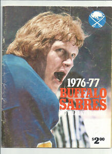 2 DIFFERENT BUFFALO SABRES YEAR BOOKS ~ 1976-77 ~ 1977-78