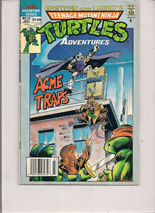 TMNT Adventures #22 - Archie Comics - 1991
