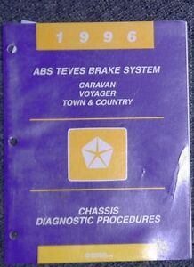1996 Caravan Voyager Town & Country ABE Brake sys Chassis Diag++