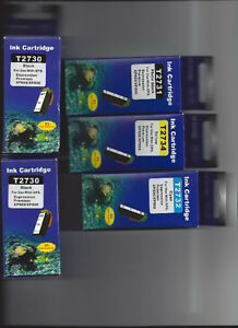 For Epson Printer:5 Epson Ink Cartridges Brand New.