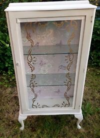 Vintage Glass Display Cabinet *upcycled&Unique*