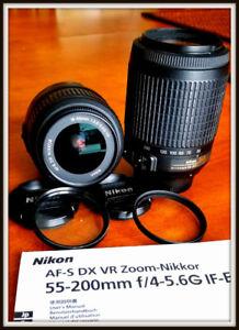 2 Objectifs Nikon à vendre / 2 Nikon lenses for sale