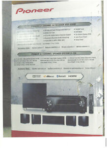 Pioneer Home Theatre Surround Sound System - SPEAKERS ONLY
