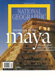 National Geographic Mysteries Of The Maya Collector's Edition +