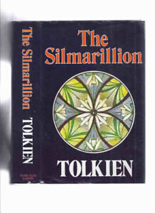 J R R Tolkien Silmarillion 1st edition fold-out map
