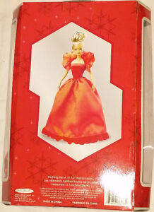 Qty 4 x Barbie Holiday Magic Dolls Red, Blue, Green Dresses NEW London Ontario image 8