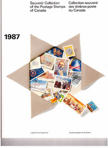 Collection Canada 1987 (timbres/stamps)