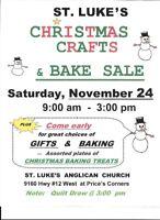 Christmas Craft & Bake Sale!