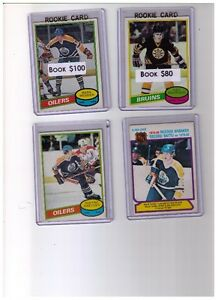 Complete1980 - 81 Opee Chee Hockey Card Sets