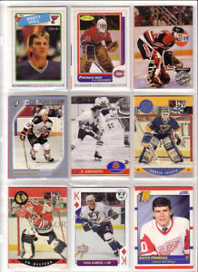 NHL cards Brewer Orr Savard Gretzky Crosby Thornton Osgoode
