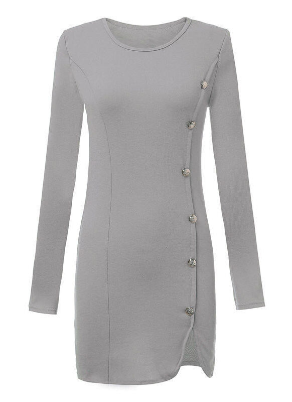 Winter Long Sleeve Bodycon Cocktail Party Dress