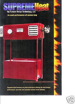 Supreme Heat Sh1750 Waste Oil Heaterfurnace
