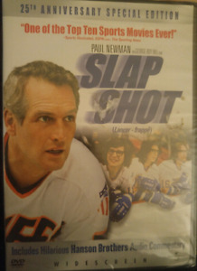 DVD Movies - Slap Shot 1,2 and 3