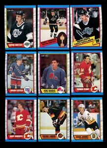 Mint OPC 1989-90 Hockey Card Set Complete w/Sakic RC! Sarnia Sarnia Area image 2