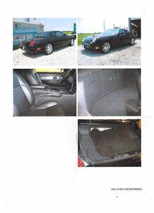 2002 Ford Thunderbird black Coupe (2 door)