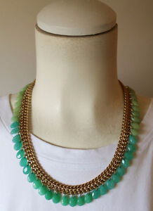 Stella and Dot Contessa Jade Necklace