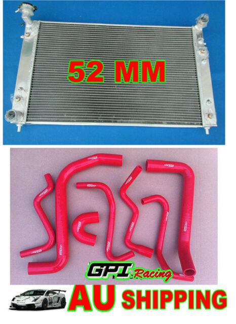 52MM Aluminum Radiator Holden Commodore VT VX 3.8L V6 Petrol 97-02 AT/MT & HOSE