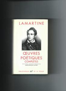 LAMARTINE BIBLIOTHÈQUE DE LA PLÉIADE 1963 COMME NEUF