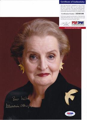 Madeleine Albright Secretary Of State Signed Autograph 8X10 Photo Psa Dna Coa 10