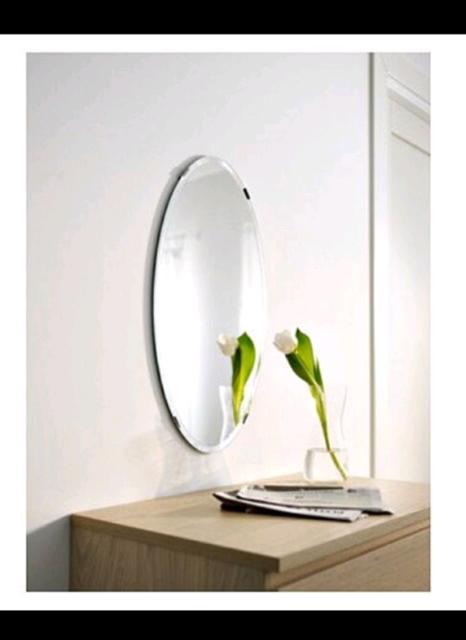Ikea Kolja Oval Mirror In Motherwell North Lanarkshire Gumtree