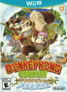 Donkey Kong Country Tropical Freeze Complete Great Condition