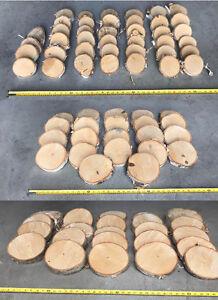 Rustic Wedding - Birch Decor - Rounds / Slabs - Birch Wood