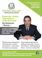 Gestion - Formation - Restructuration de Restaurant