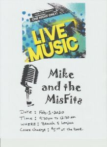 LIVE at the FIVE:  MIKE & THE MISFITS