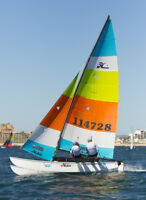 Seeking hobie cat catamaran experience