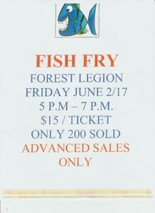 Forest Legion - Fish Fry June 2/17