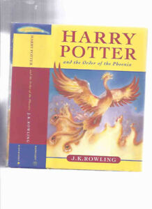 Harry Potter and the Order of the Phoenix, book 5 of the Series