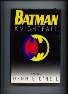 BATMAN KNIGTHTFALL AND 4 OTHER BATMAN GRAPHIC NOVELS. ALL IN SUP