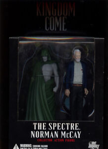 KINGDOM COME THE SPECTRE AND NORMAN MCCAY DC DIRECT  EARLY 2000S